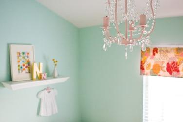 Jolie Chambre { Vert d\'eau , Jaune , Corail } | Cerise et ...
