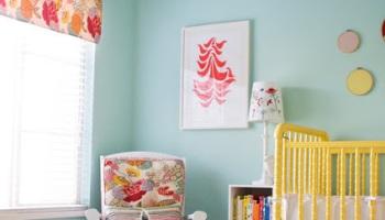 jolie chambre vert deau jaune corail - Chambre Vert Deau