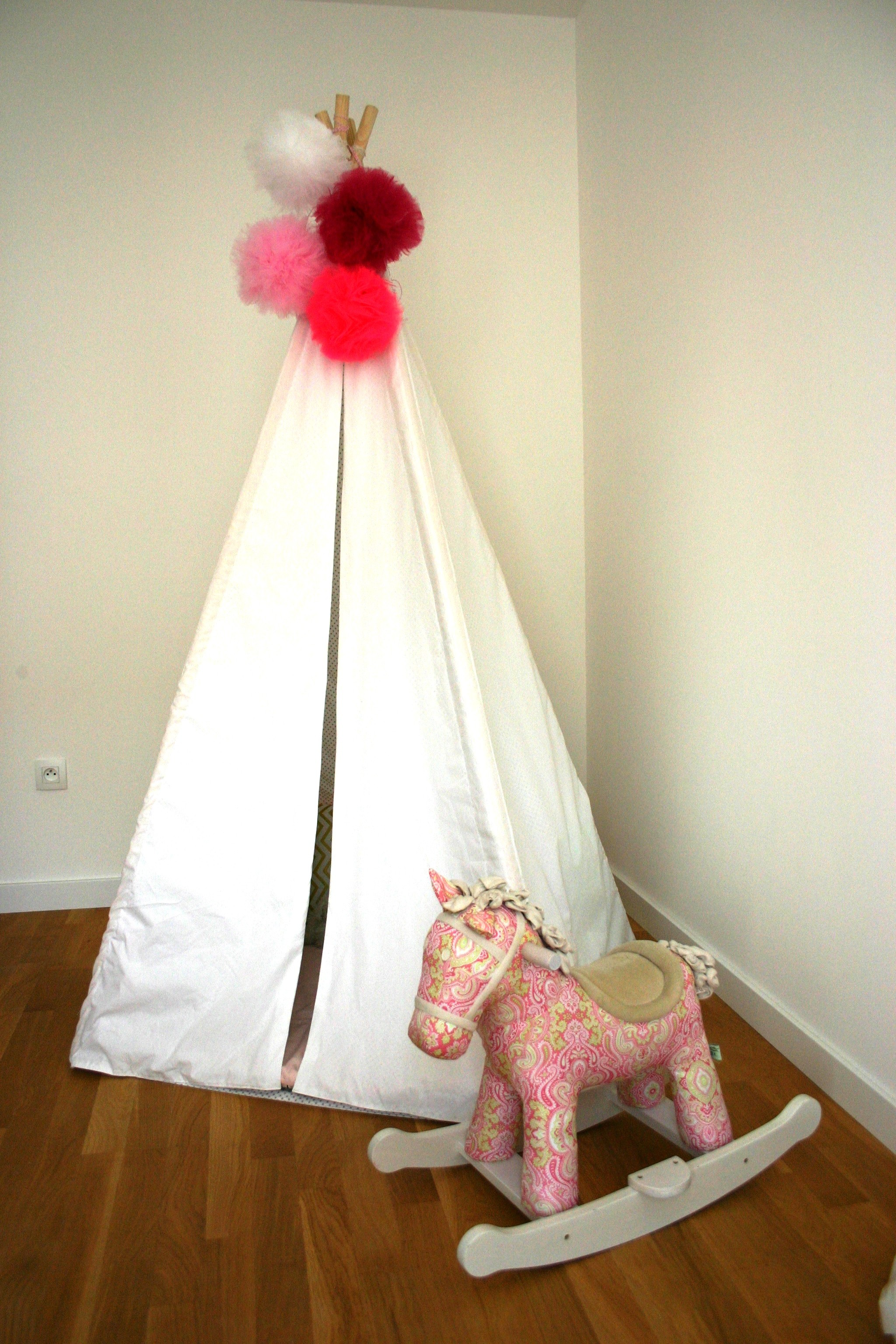 jolie d co tipi tuto cerise et petits pois. Black Bedroom Furniture Sets. Home Design Ideas